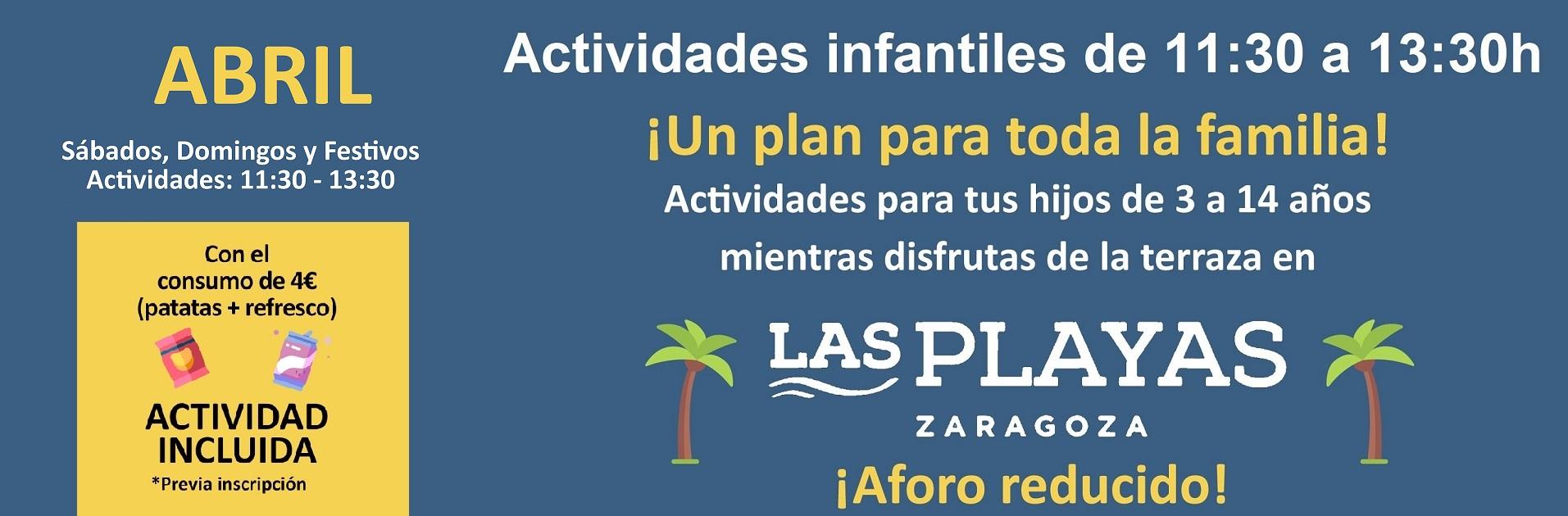 Actividades Las Playas Zaragoza